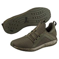 c987fddf1befb4 Puma Men s Mega Nrgy Forest Night and Black Running Shoes-6.5 UK India (