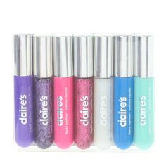 Colored and Glittered Liquid Eyeliners