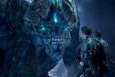 Leatherback-Kaiju monster Pacific Rim