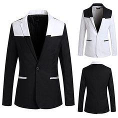 Jeansian New Designed Fashion Mens Casual Suit Mens Suits Blazer Jacket 2 Colors 4 Sizes Mens Casual Suits, Mens Fashion Suits, Mens Suits, Blazer Suit, Blazer Jacket, Suits Usa, Blazers For Men, Jackets, Fashion Design