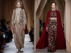 Valentino / Новая коллекция одежды от Валентино в этническом славянском стиле