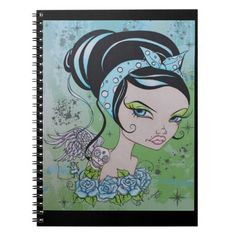 Rockabilly Rhonda Notebook