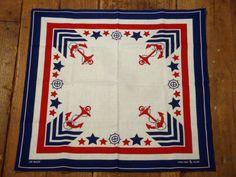 amazing vintage marine bandana
