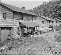 Typical eight room, two family houses. Each half of the house rents for from $10 to $11 monthly plus $1 for water and $2 for electricity. Southern Coal Corporation, Bradshaw Mine, Bradshaw, McDowell County, West Virginia., 08/27/1946