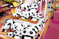 Tare Panda stuffed animals