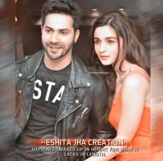 Cool Girl Pictures, Couple Pictures, Varun Dhawan Photos, Alia Bhatt Varun Dhawan, Alia And Varun, Secret Love Quotes, Couple Photography Poses, Actor Photo, Album
