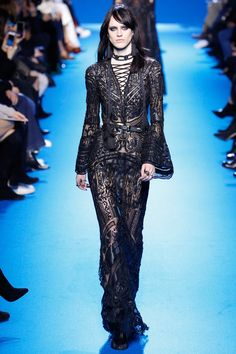 Elie Saab Fall 2016 Ready-to-Wear Fashion Show - Sarah Brannon (OUI)