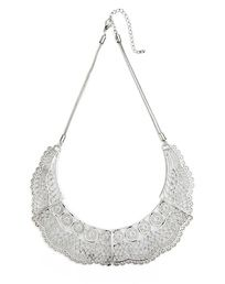 The Metal Lace Collar by JewelMint.com, $29.99
