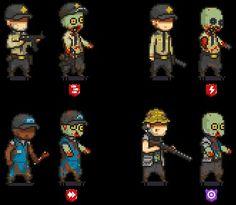 Zombie 2, Call Of Duty, Warfare, Pixel Art, Logan, World War, Monsters, Art Projects, Nintendo