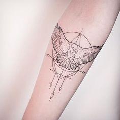 FLYING EAGLE - Tattoo Hamburg - Melina Wendlandt