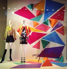 Visual merchandising macys Chicago