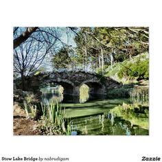 Stow Lake Bridge Poster