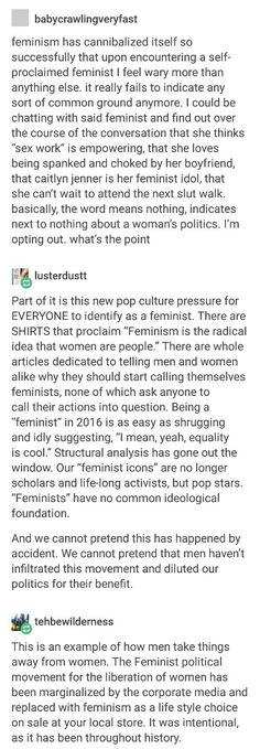 "@Chelsochist-Men did say they hated the word ""feminism"" because it was ""exclusive."""