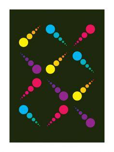 Circus #5 (2009) // Geometric Art by Gary Andrew Clarke