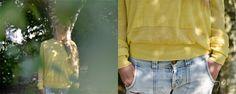 "#SS14 - frauen - cashmere pullover ""double layer"". #sunyellow #summercashmere #neyomadeinnepal"