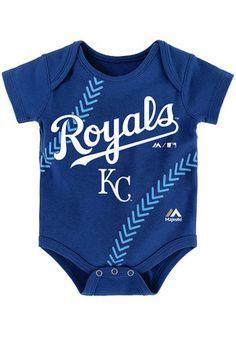 Kansas City Royals Baby Blue Fan-Atic Creeper