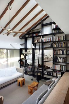 another great bookcase wall.