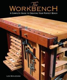 In this fresh and contemporary look at the world of workbenches, Lon Schleining takes us on a guided tour of a wide variety of classic, modern, and specialty benches and offers hundreds of options for #WoodworkingBench