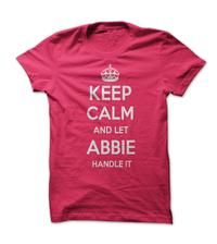Keep calm and let Abbie handle it