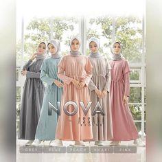 Nova by Assana Blue Peach, Blue Grey, Bridesmaid Dresses, Wedding Dresses, Nova, Pink, Fashion, Bridesmade Dresses, Bride Dresses