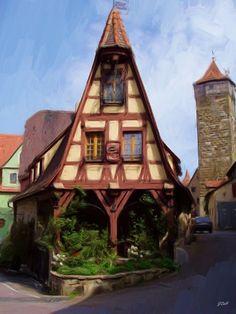 'Rothenburg Building' by Jenny Hudson