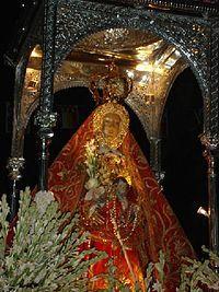 Imagen Virgen de la Sierra, de Cabra (Córdoba)