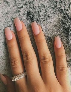 Superior And Graceful Pure Color Nails - SooShell Simple Acrylic Nails, Best Acrylic Nails, Acrylic Nail Designs, Neutral Nail Color, Nail Colors, Neutral Tones, Best Toe Nail Color, Color Nails, Trendy Nails