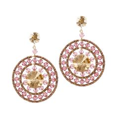 Caleidoscopio Rosacea Earrings