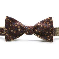 Двусторонняя галстук-бабочка 48