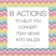 It's time to fine-tune the inner workings of your small business for maximum sales potential. Here are 8 actions that will help you convert product views.