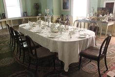 Dining room at Saltram House