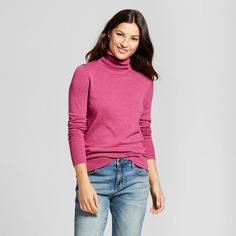 Women's Turtleneck - A New Day Pink Xxl