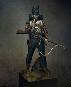 Colour Sergeant, light company,2nd Battalion, Coldstream Guards, 1815 by Iguazzu · Putty&Paint