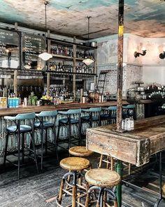 646 Likes, 51 Comments - Morena 🌏🍴 Restaurant Bar, Restaurant Design, Green Cafe, Bars And Clubs, Club Design, Tasting Room, Cool Bars, Halle, United Kingdom