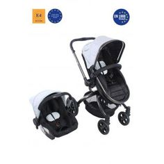 Kraft Twist XX Travel Sistem Bebek Arabası Gri