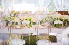Linen Rentals: La Tavola Fine Linen Rental - http://www.stylemepretty.com/portfolio/la-tavola-fine-linen Photography: Closer to Love Photography - closertolovephotography.com   Read More on SMP: http://www.stylemepretty.com/2016/06/20/rich-kids-of-beverly-hills-morgan-stewart-brendan-fitzpatrick-wedding/