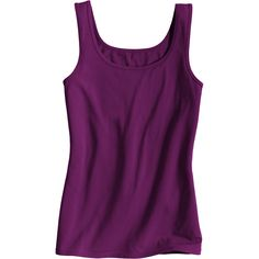 This No-Yank Tank Top's combo of super-soft organic cotton and spandex stays put when you walk, reach or wiggle. It's comfort without the creep!
