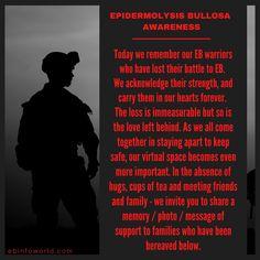 #EpidermolysisBullosa #EBawareness We Remember, Disorders, Strength, Learning, Studying, Teaching, Onderwijs, Electric Power