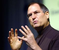 """Steve Jobs - Gordon Chibroski/Portland Press Herald via Getty Images - :""""The only way to do great work is to love what you do."""""""