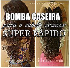 tratamento para crescer cabelo rapido Love Your Hair, How To Make Hair, My Hair, Beauty Care, Hair Beauty, Long Silky Hair, Super Rapido, Pelo Natural, Tips Belleza