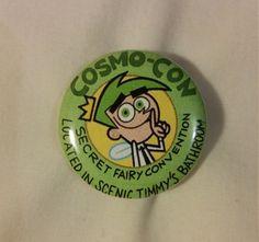 CosmoCon Cosmo Con Cosmo-Con knop van RedRingButtons op Etsy