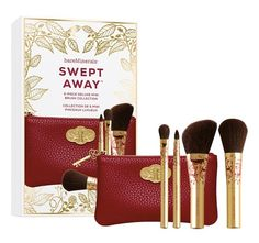 Holiday 2015 from Bare Minerals   Bare Minerals Swept Away Mini Brush Collection (LE) ($26)
