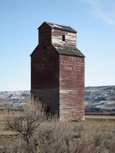The Alberta Pacific Grain Co., Idt in Dorothy, Alberta, Canada.