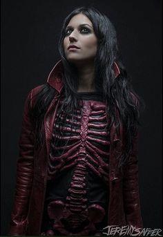 Cristina Scabbia of Lacuna Coil (photo by Jeremy Saffer)