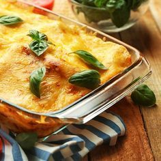 Lasagnes de tomates au steak haché et mozzarella