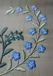 Su's Silks and Shinies: The forget-me-nots. They are four differnt colours…