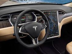 2012 Tesla Model S / carinteriors