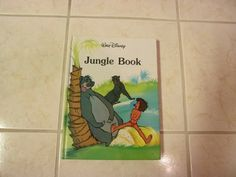 [FREE-SHIPPING] $2.99 Walt Disney Jungle Book (1986) RARE, 96 PAGES LONG, HARD COVER #BestChildrensBooksByAge #BestBookForElementary #BestReadAloudChapterBooks Chapter Books, Read Aloud, Walt Disney, Free Shipping, Reading, Cover, Reading Books