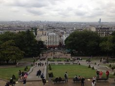 At the highest point in the city. Montmartre, Paris