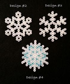 strijkparels sneeuwvlokken : KNUTSELDINGES
